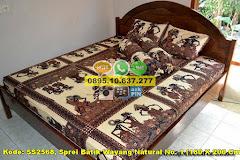Harga Sprei Batik Wayang Natural No. 1 (180 X 200 Cm)** Jual