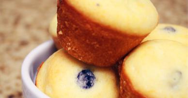 Lemon Blueberry Small Cake
