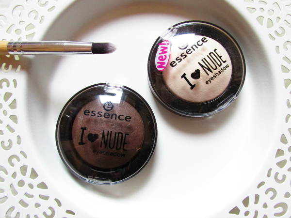 essence I ♥ NUDE eyeshadows - 06 coffee bean & 01 vanilla sugar