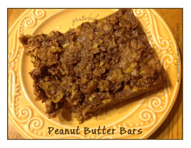 The Incredible Yumminess of Peanut Butter Bars {I'm a Contributor at ...