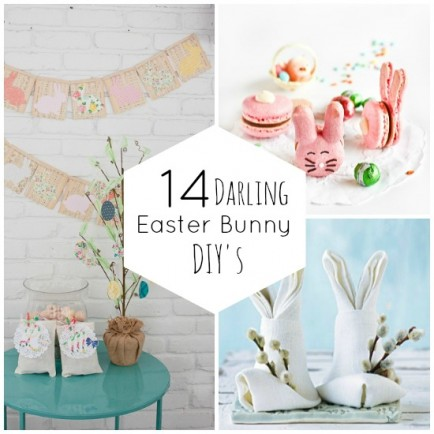 14 Darling Easter Bunny DIY's
