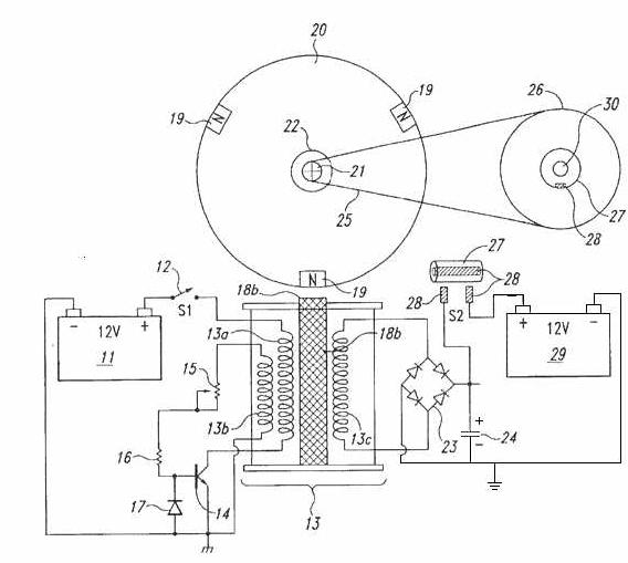 Circuito Motor Bedini : Energia alternativa bedini intermediário