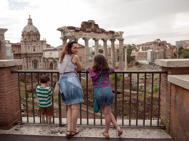 No sin mis hijos en Roma