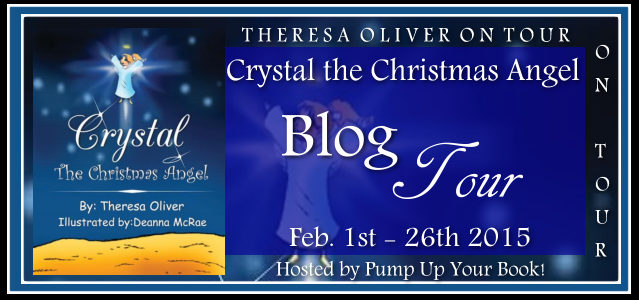 http://www.pumpupyourbook.com/2016/01/29/pump-up-your-book-presents-crystal-the-christmas-angel-virtual-book-publicity-tour/