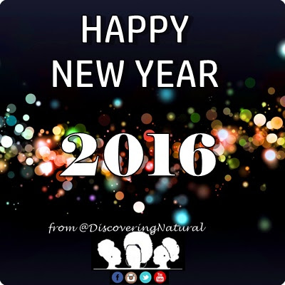 HAPPY NEW YEAR 2016 DiscoveringNatura