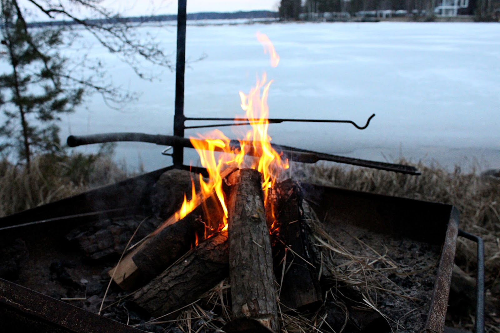 lake Paijanne, Padasjoki, Villa Paapuuri, Kiuasniemi Villas, lake, water, Finland, Finnish sauna, fire