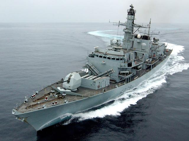 HMS Montrose (F236)