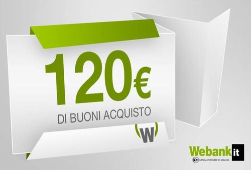 € 120 BUONI ACQUISTO