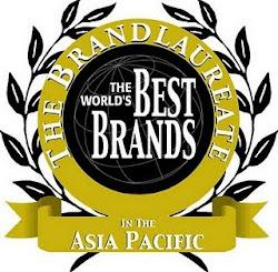 Pemenang Anugerah Best Brand 2009,2010 & 2011 Asia Pasifik Oleh Bran