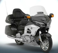 2012 Honda Gold Wing black