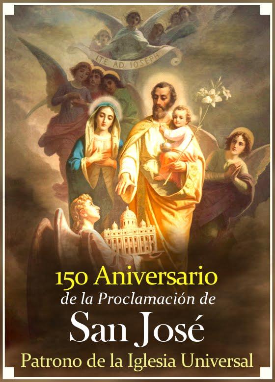 150 Aniversario de la Declaración de San José como Patrono de la Iglesia