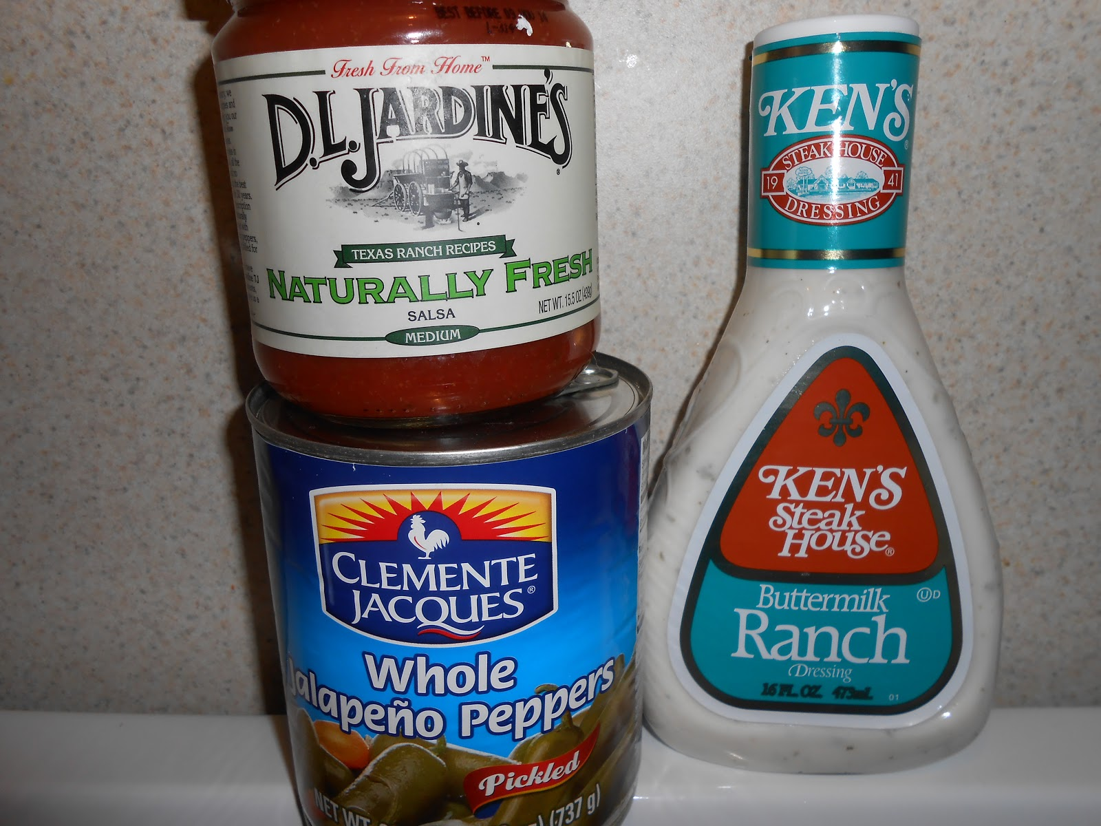 DIY- Spicy Jalapeño Ranch Dressing ~ CluelessCurl