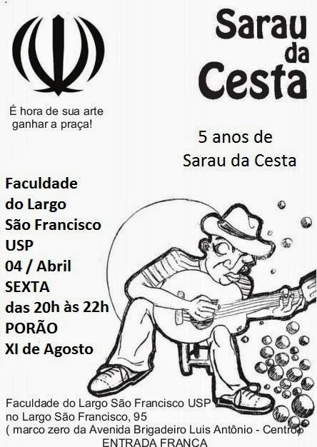 Sarau da Cesta comemora 5 anos