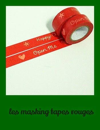 Masking tape Noel