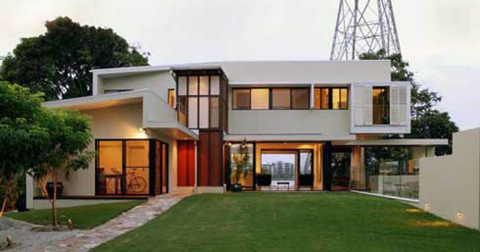 Home decoration design residential architecture design for Latest architectural house designs