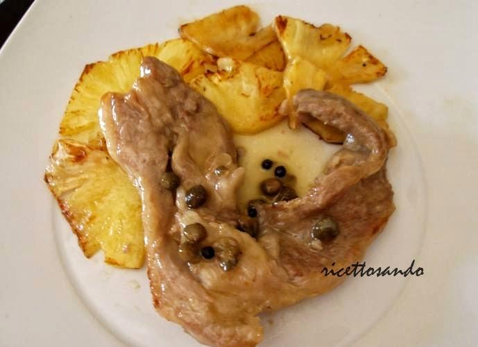 Nodini di vitello con capperi e ananas ricetta di secondi patti di carne