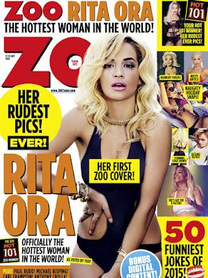 """Rita Ora es """"La mujer más sexy del mundo"""" según la revista Zoo: Mira su sexy shoot."""