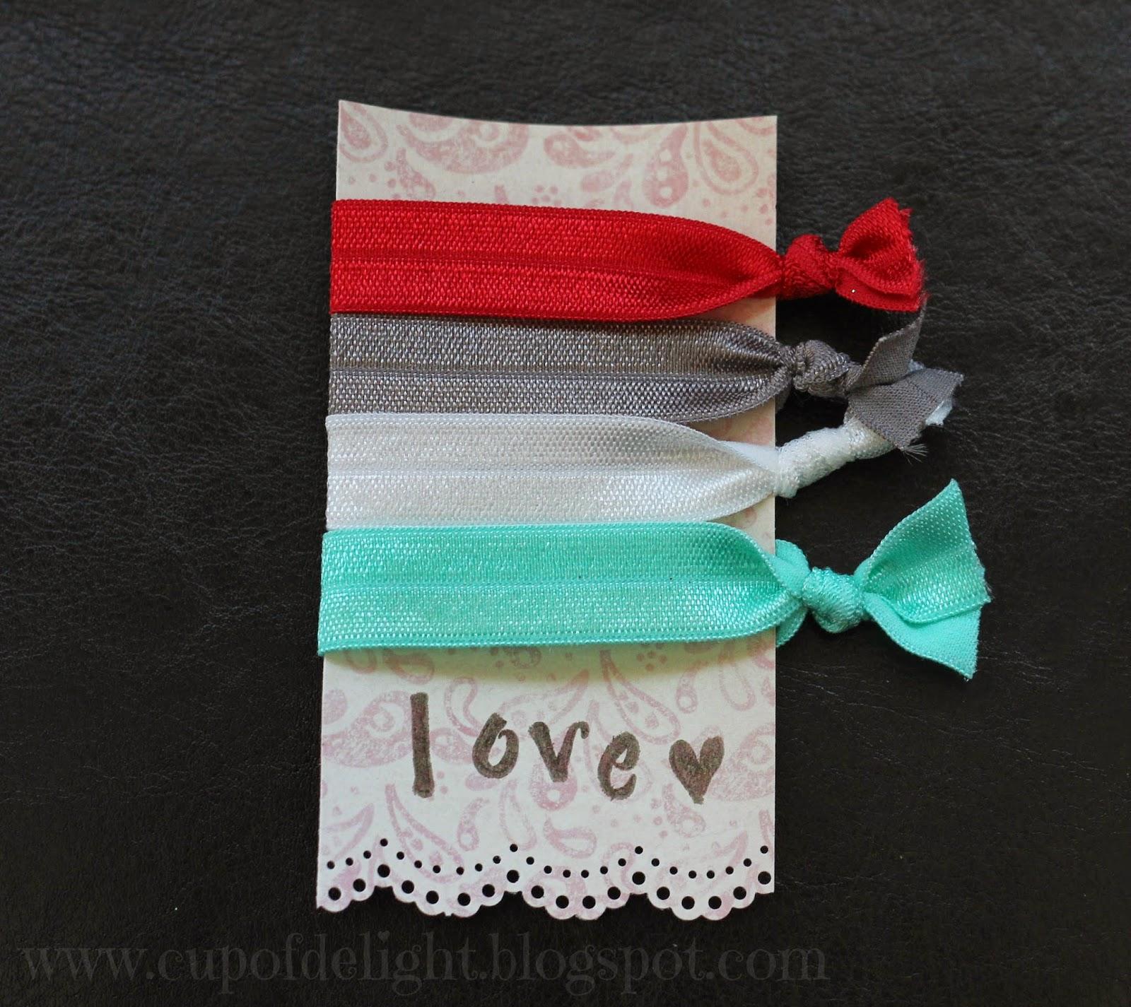 hair tie valentine