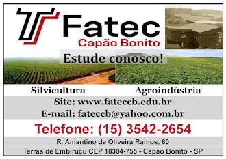 Fatec Capão Bonito R. Amantino de Oliveira Ramos, 60 - Terras de Embiruçu CEP 18304-755 - Capão Bon