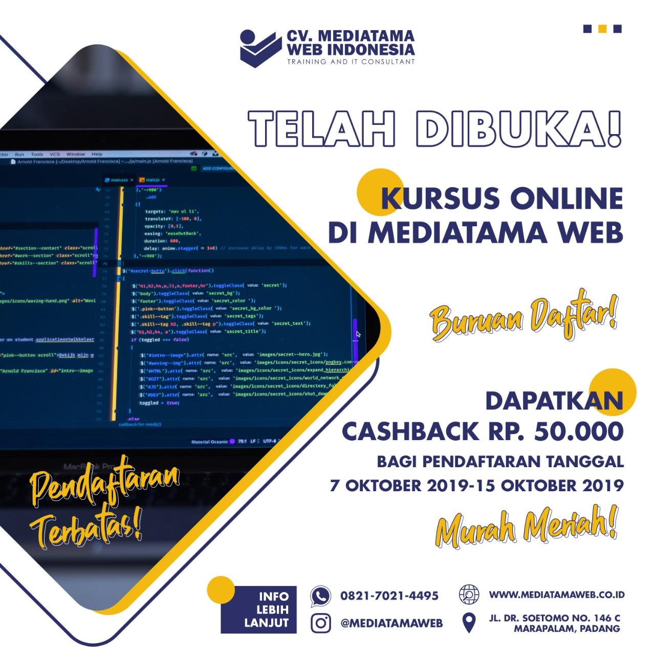 Kursus Online Pemograman