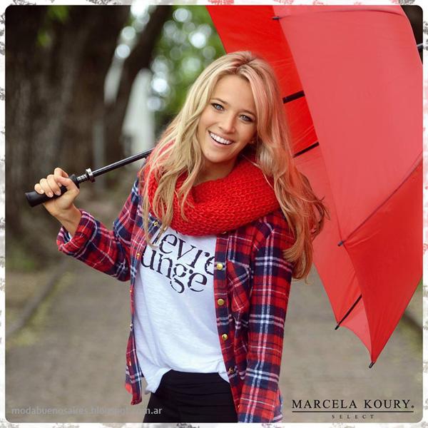 Moda invierno 2014 - Marcela Koury Select ropa de mujer de moda otoño invierno 2014. Moda 2014.