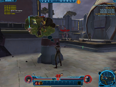 SWTOR - Force Sensitive Smuggler?