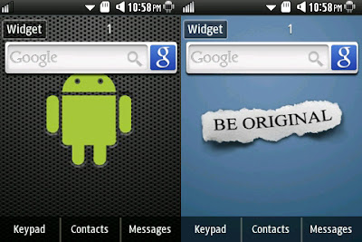 android google search samsung widgets