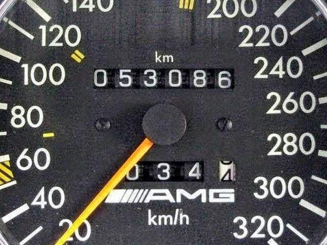 w124 speedometr amg