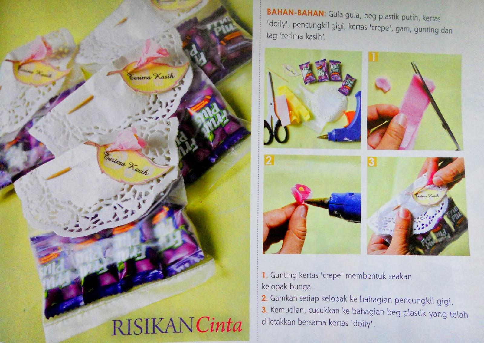 Petals of life persiapan kahwin door gift for Idea door gift kahwin 2013