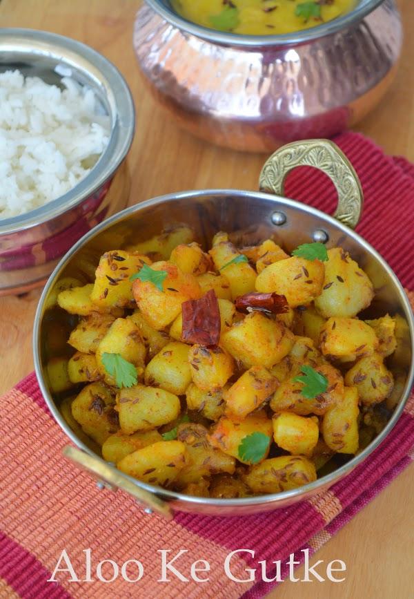 Uttarakhand Cuisine ~ Aloo Ke Gutke