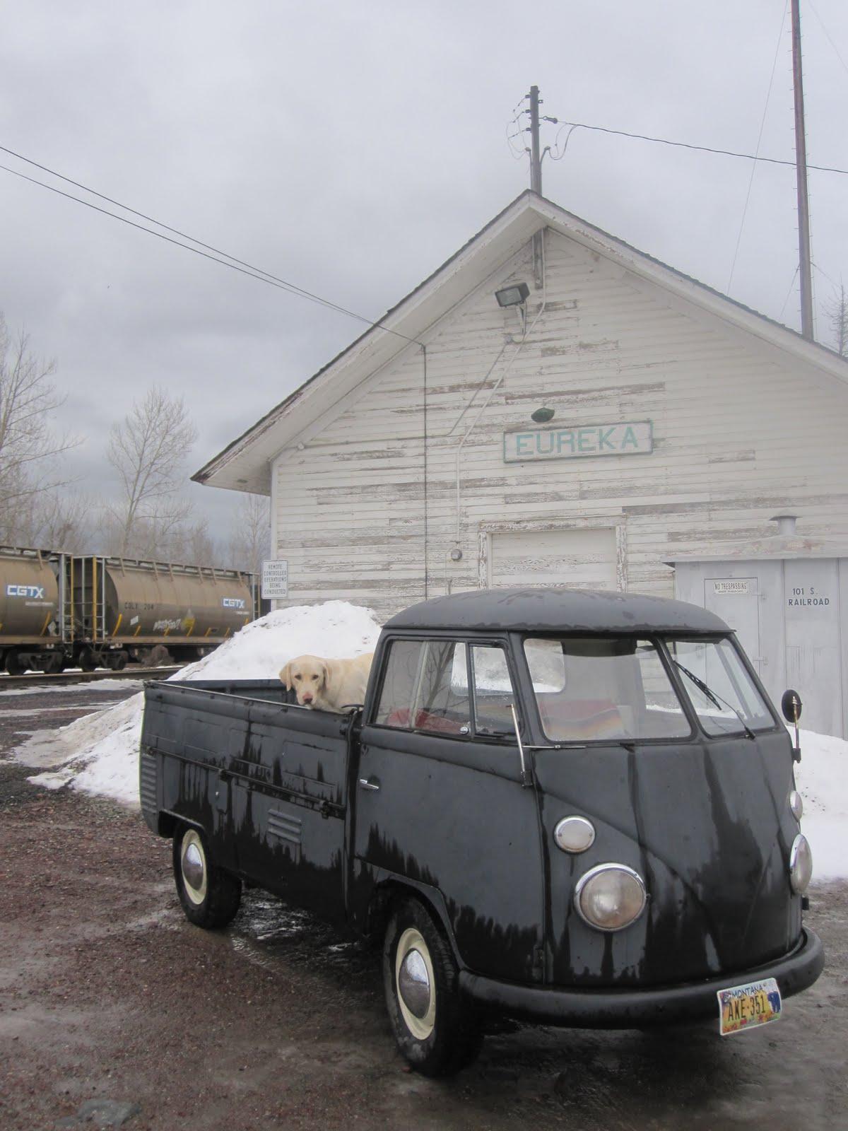 1964 Vw Truck : Single cab pickup vw
