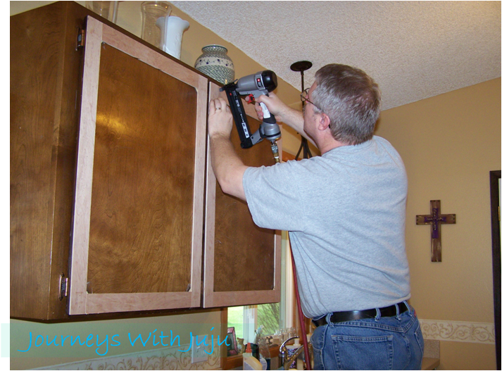 with juju kitchen cabinet makeover doors drawers facelift