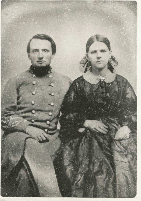 Col. Van Manning and Wife