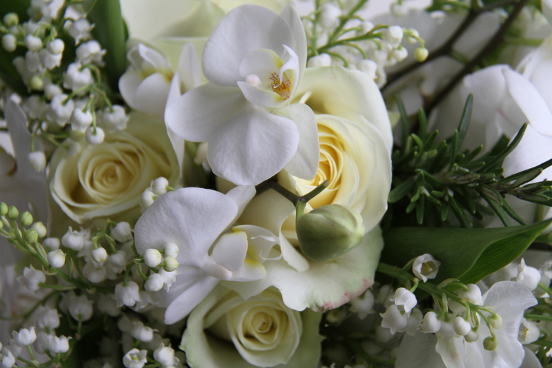 The Flower Magician: A Fabulous Cascading Bridal Bouquet