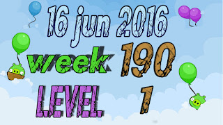 Angry Birds Friends Tournament level 1 Week 190