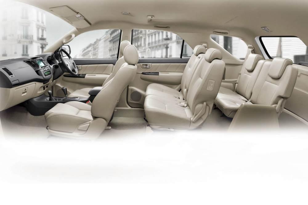 Toyota Fortuner interior - SPORTS CARS