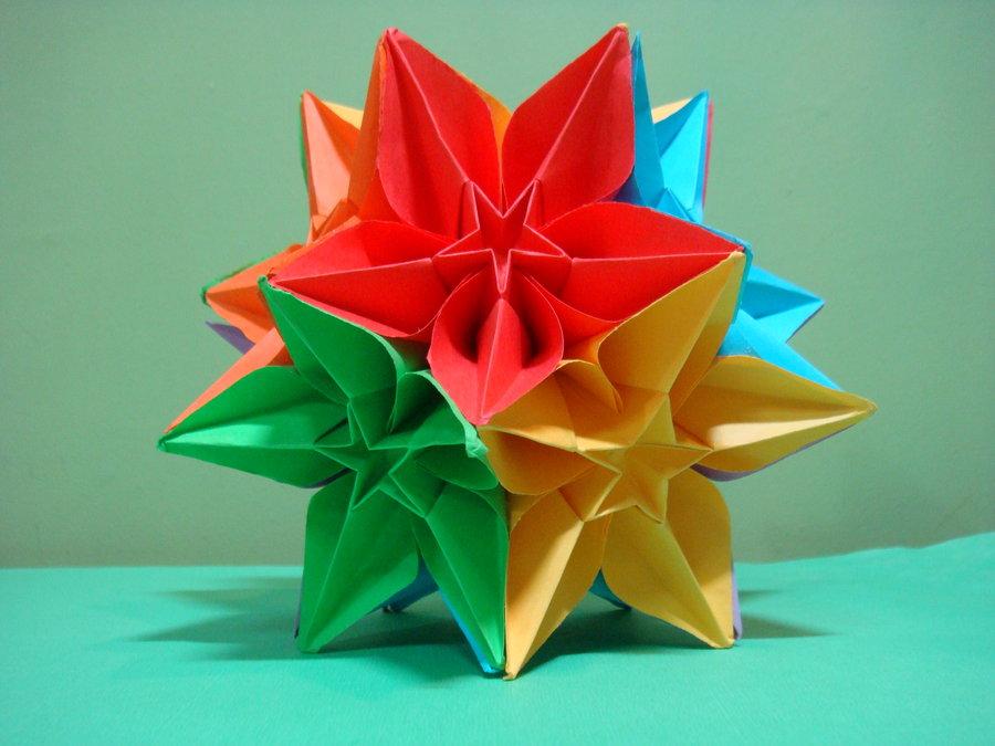 Origami maniacs carambola kusudama carambola kusudama instructions for the flower mightylinksfo