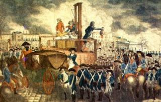 Revolucion francesa Luis XVI guillotina