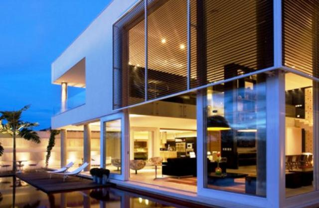 Djhonatan box 39 s casas contempor neas brise soleil for Fotos de casas modernas brasileiras