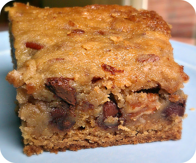 Life's Simple Measures: Pecan Chocolate Chip Gooey Butter Bars