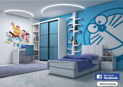 Desain Kamar Doraemon