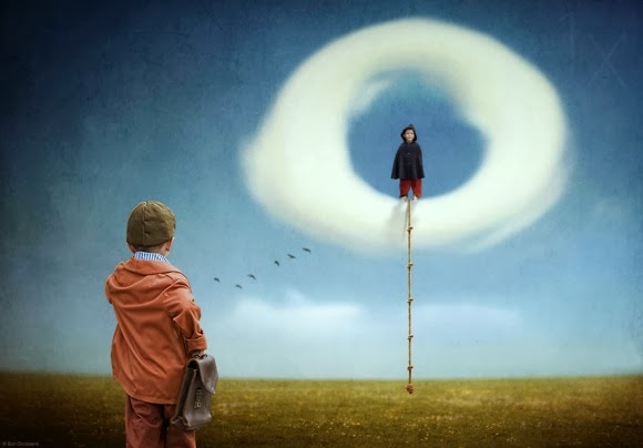 Photo Manipulation Digital Art Surealistik Ben Goossens