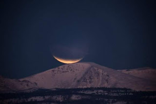 poto gerhana bulan total
