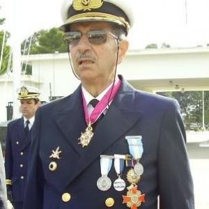 Contraalmirante Carlos Robacio, jefe del BIM 5. 00untitled1