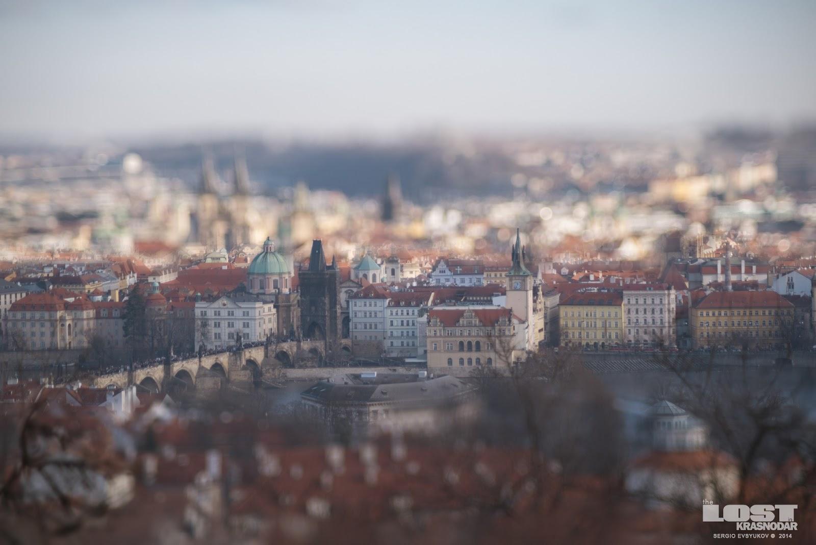 Прага в миниатюре