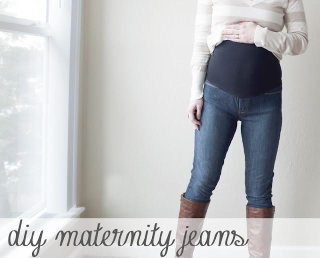 Tự làm quần Jeans cho mẹ bầu năng động - Ảnh 1