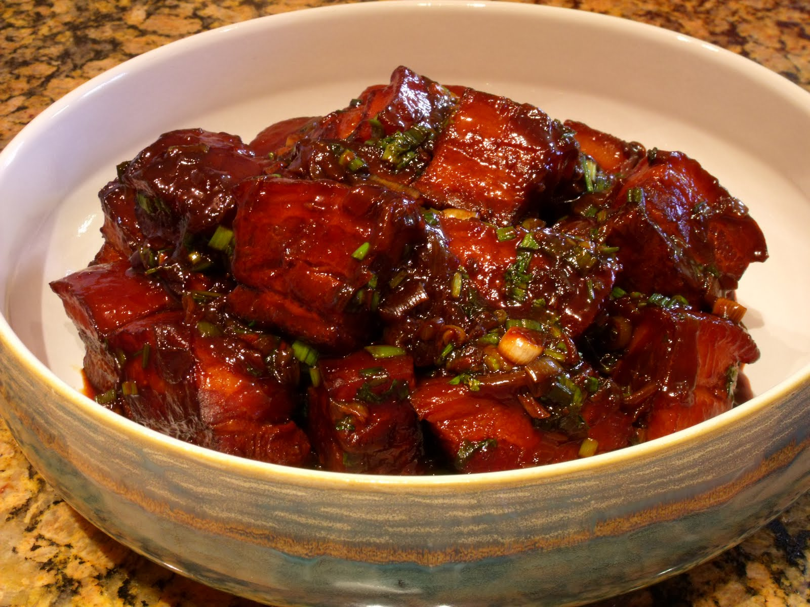 Pork cubes recipe chinese