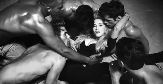Madonna's Girl Gone Wild is not that wild