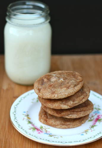 Snicker-Chip-Doodle Cookies
