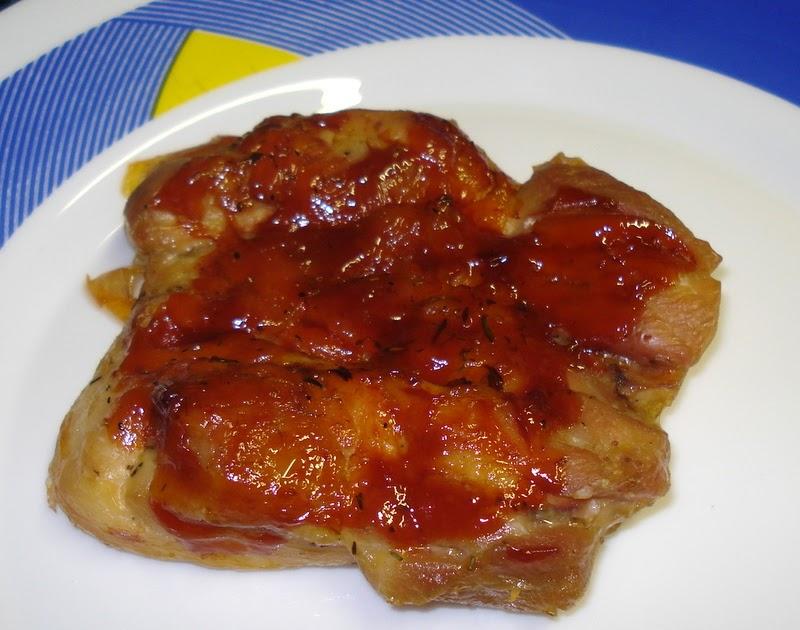 Pollo con salsa barbacoa recetucas sin gluten for Salsa barbacoa ingredientes